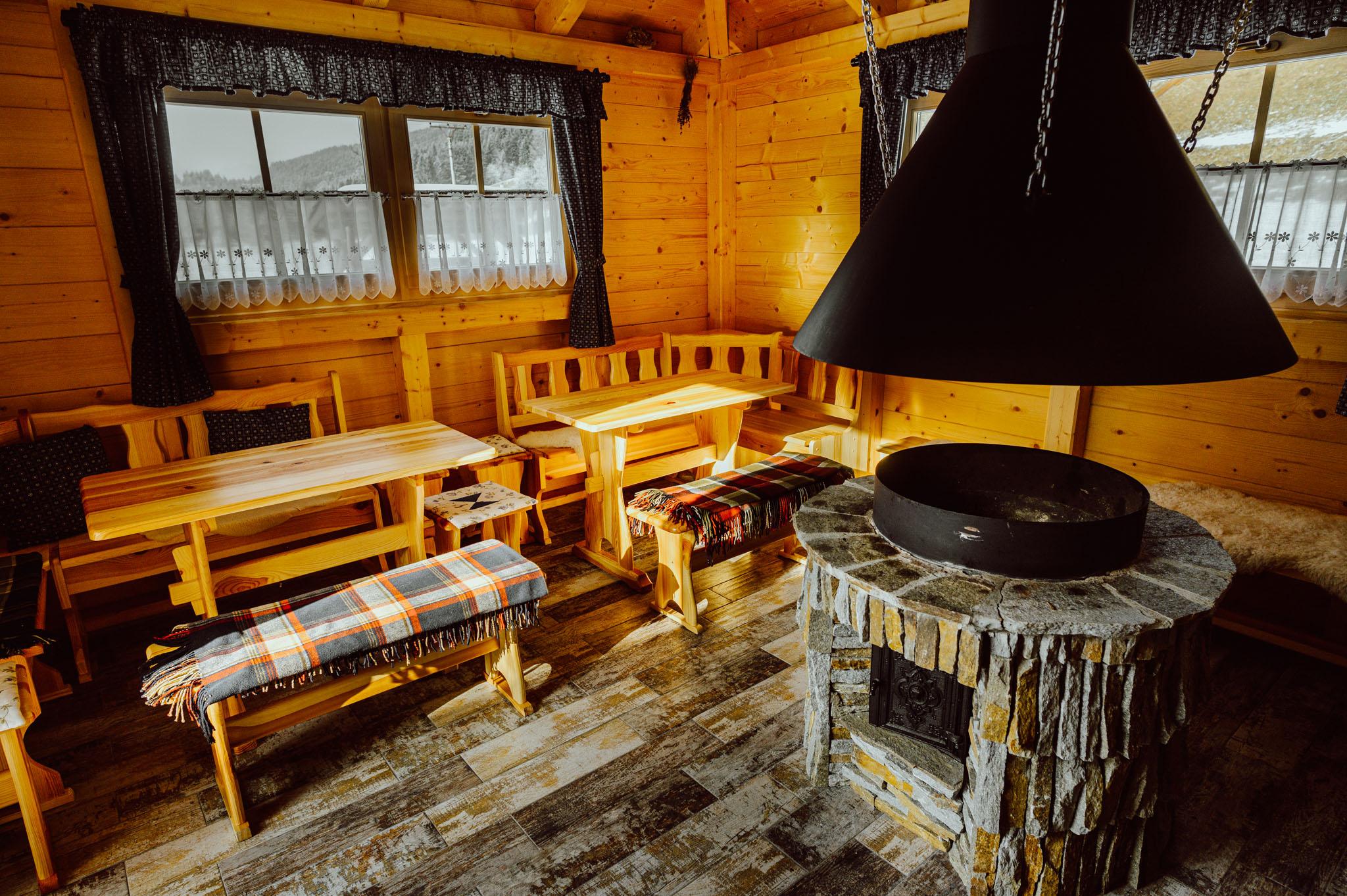 Grilšopa je k dispozici pro všechny ubytované hosty Valašského Dvora
